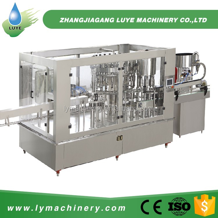 3 In 1 Juice Water Filling Machine For Drinking Water