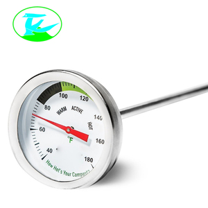 High Accuracy Bimetal Thermometer Oven With Movable Inner Threaded Connector