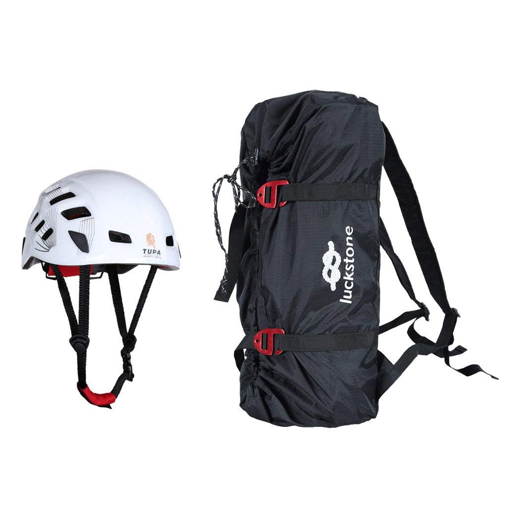 Safety Helmet for Rock Climbing Caving Rescue Rope Cord Bag /& Ground Sheet