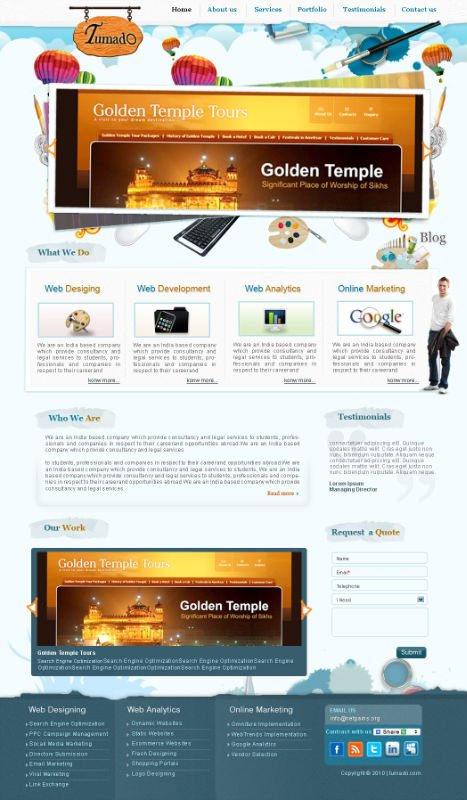 Web Designing, Web Application Development & Internet Marketing service provider