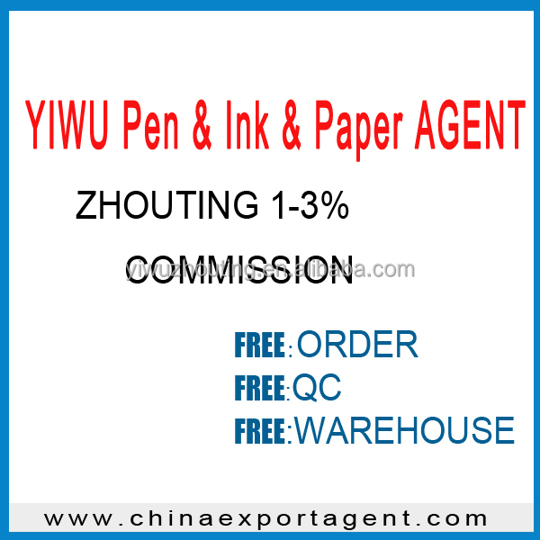Ten years trade company specialty YIWU Pen & Ink & Paper AGENT