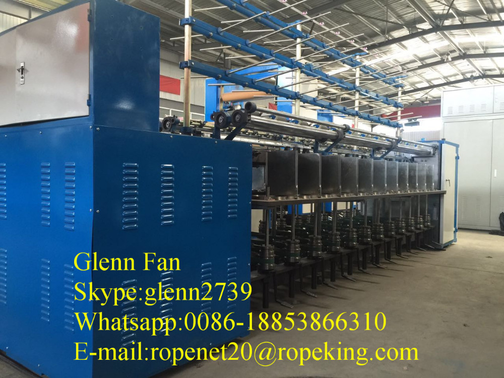 China Supplier Good Price Two-for-one Silk Yarn Twisting Machine ...