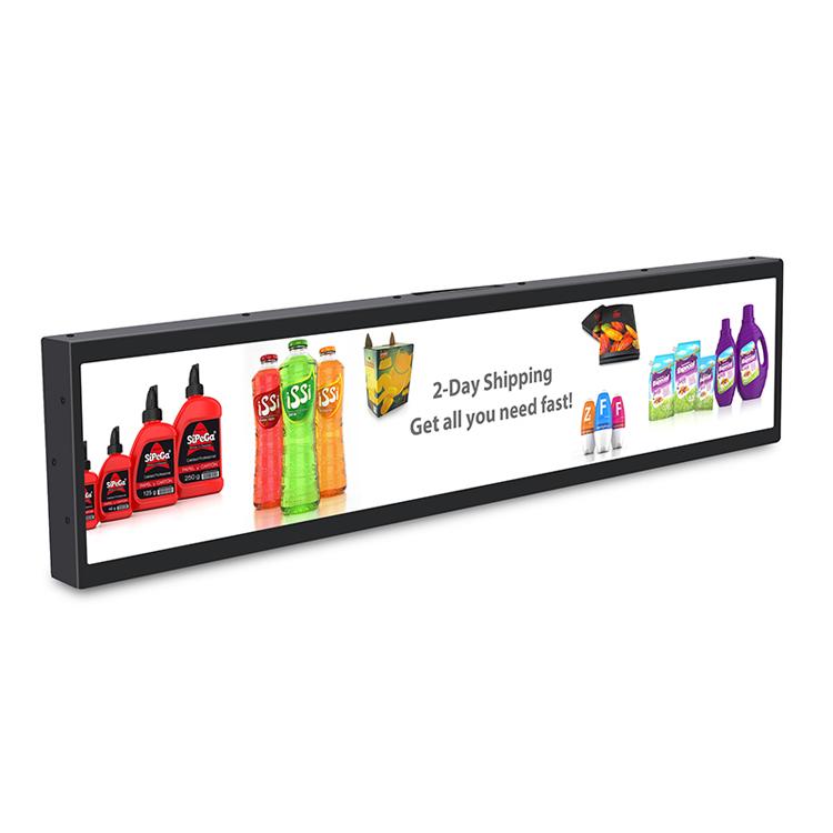 16.3 book shelf kiosk, advertising display supermarket shelf