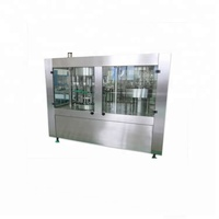 Small capacity automatic bottle pure water filling 3 in 1 machine plant