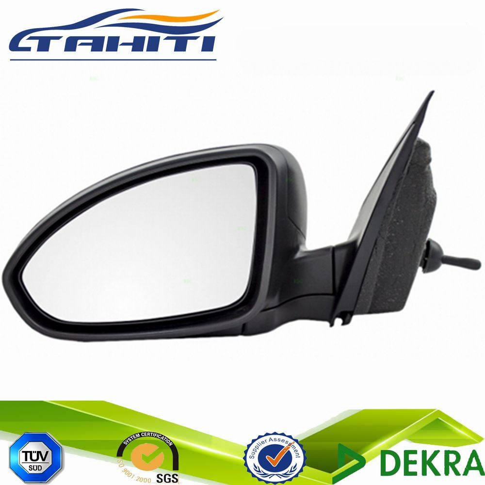 Chevrolet Spark 2009-2015 Door Mirror Manual Cable Black O//S Driver Right