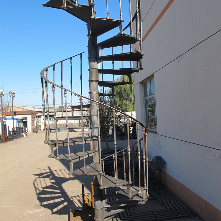 Big promotion outdoor/indoor spiral staircase with lower price