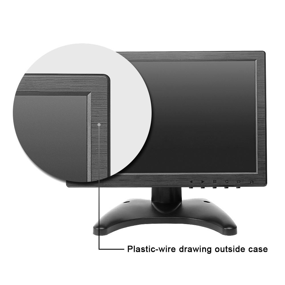 10 inch led monitor hd monitor