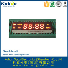 Customized 7 segment led display 4 digit for home appliance hot sell customer display