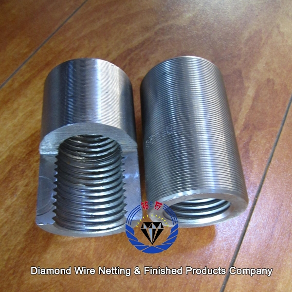 Reinforcing Steel Couplers : Concrete reinforced steel bar splicing couplers price
