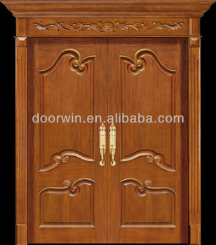 Kayu jati modern terbaru desain pintu utama buy product for Take door designs