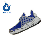2018 Newest Colored Shoes Shape Lapel Pin Nike Shoes Pin Badges For Sale