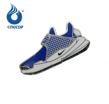 2018 Newest Colored Shoes Shape Lapel Pin Nike Shoes Pin Badges For Sale Buy Metal Sport Shoes Shape Pin Badges,Nike Shoe Enamel Lapel Pin
