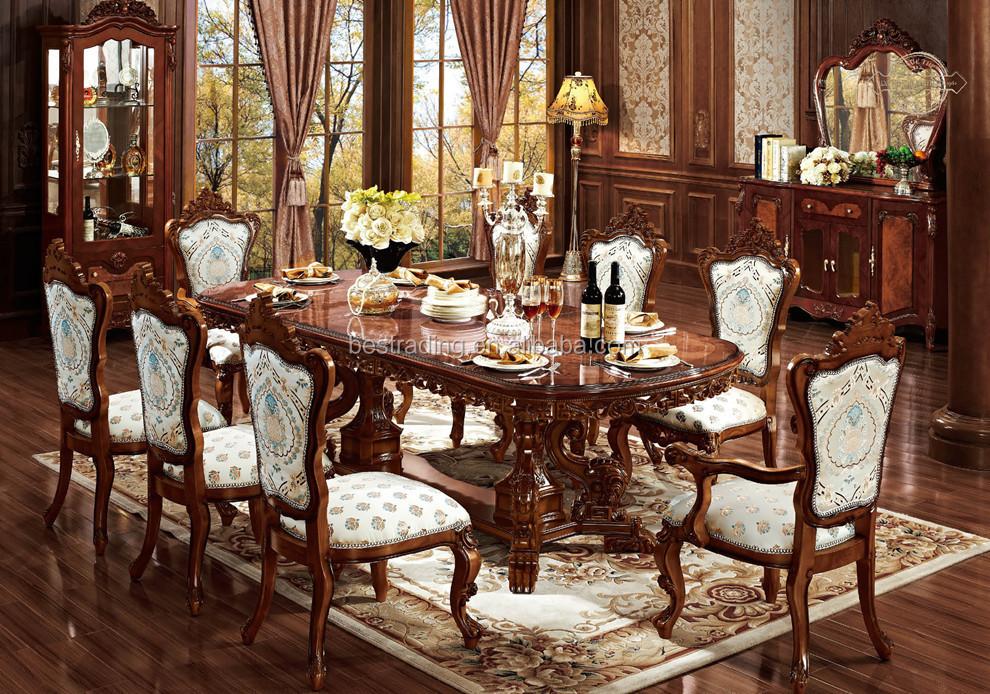 Tavoli Da Pranzo Classici : Pranzo ovale tavolo allungabile antico intagliato tavolo da pranzo