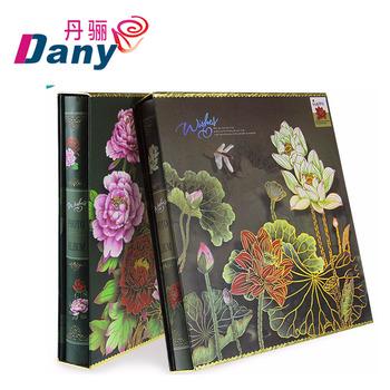 Diy Handmade Plain Cover Scrapbook Photo Album With 40 Sheets80