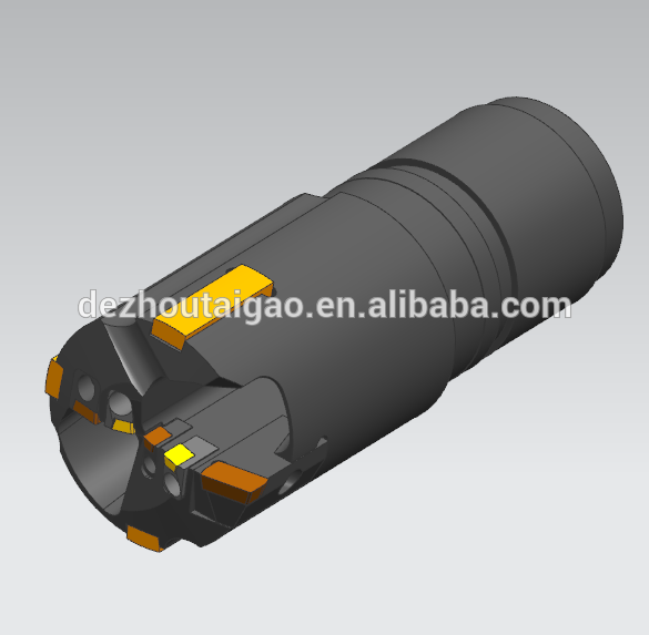 D55-65 mm  BTA Deep Hole Boring Head for drilling holes