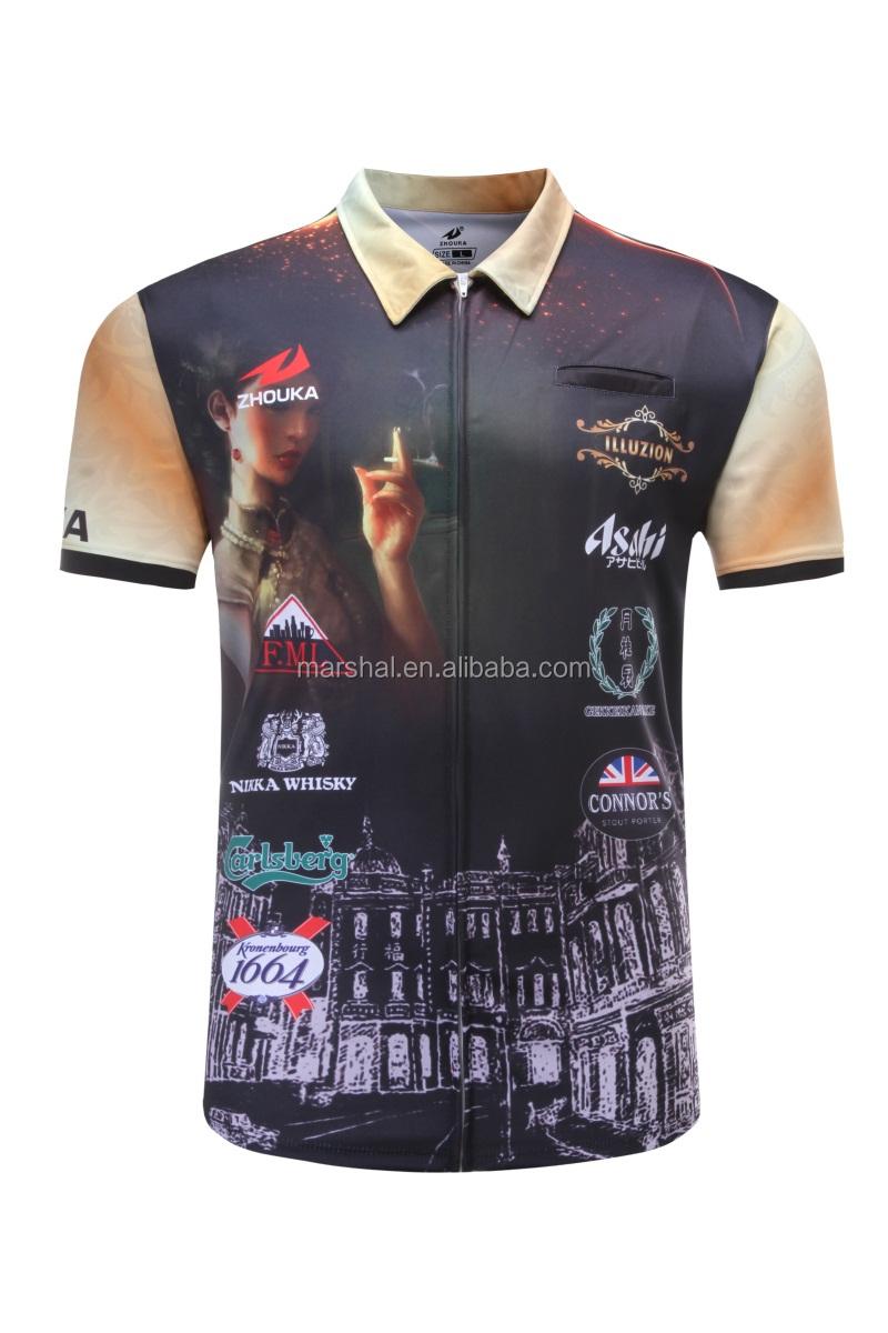 Popular Fashion Custom Design Darts Polo Shirt High Quality