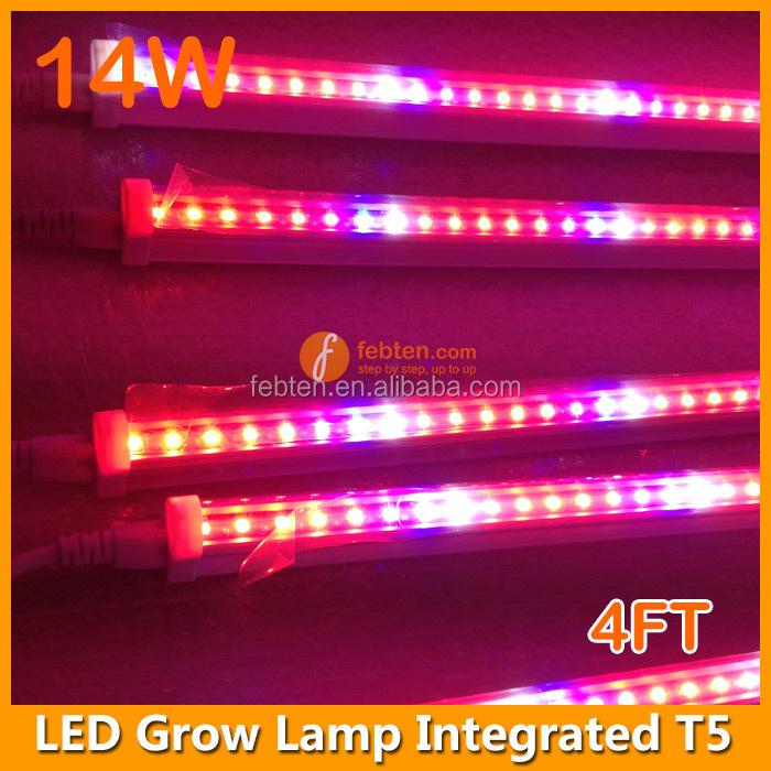 Led Grow Light For Plant Growth,T5 14w Full Spectrum Led Grow Tube ...