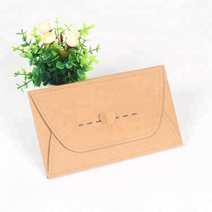Recyclable kraft closed paper envelope for thanks card