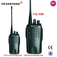 Factory OEM VK-950 Two way radios UHF Portable Mini Citizen Band Walky Talky