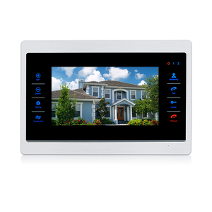 AHD Video Intercom 10inch Indoor Monitor 720P High Definition Large sreen Video Doorphone Point to point transfer call