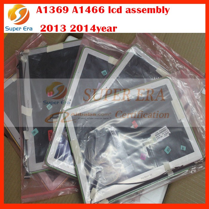 A1369 A1466 lcd led assembly screen for macbook air 13'' 2013 2014year display assembly 12pin