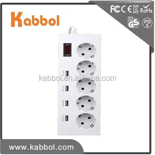 4 usb wifi power socket smart power strip power plug extension socket with surge protector 5 outlet