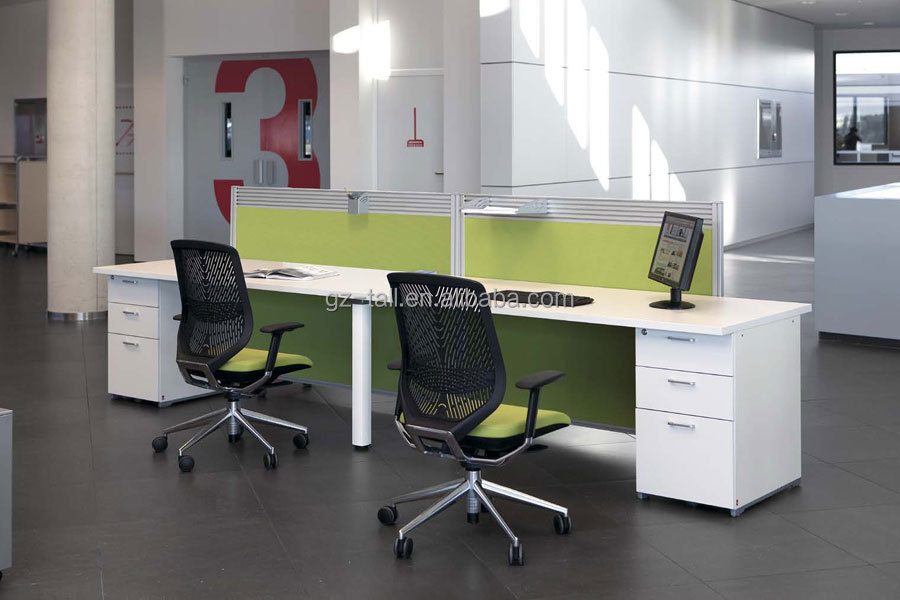 Hot Sale Modern Modular Office Workstation 2 Person Office Desk
