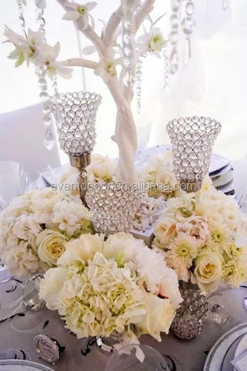 Beautiful crystal candle holderacrylic crystal wedding centerpieces beautiful crystal candle holderacrylic crystal wedding centerpiecestable candlesticks for weddings decor junglespirit Images