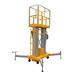 2019 Small Aerial Mobile One Man Scissor Lift/home Cleaning Elevator Aluminum Lift/Aerial Personal Lift-Leader