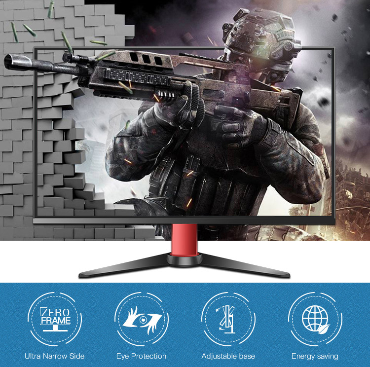 Europe Hot Selling 1080P Ultra Wide 27 Inch 16:9 LCD Gaming Monitor
