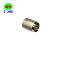 high demand cnc machining parts,Stainless Steel Machining Part with knurling and polishing