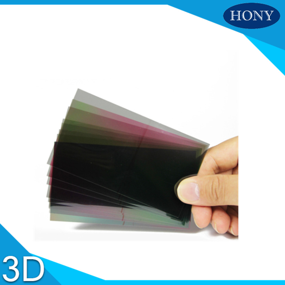 3D Self Adhesive TV lcd polarizer Filters Polarizing film 32 inch
