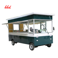 2018 newest outdoor fast food catering mobile kitchen trailer/outdoor food kiosk for sale