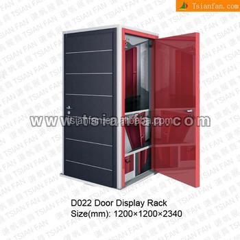 D022   Customized Cabinet Door Display Stand Rack
