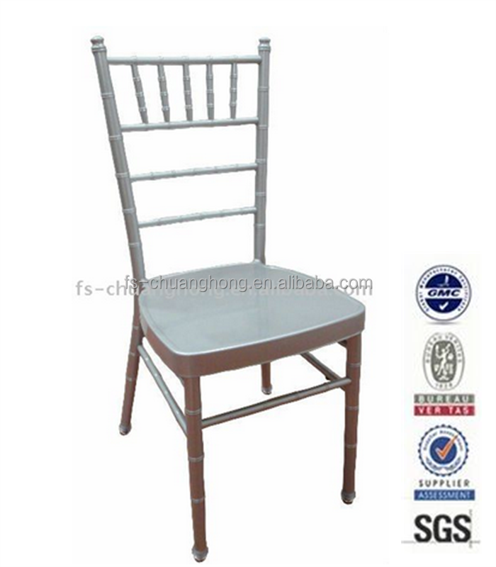 Portable and Strong white ceremony wedding banquet chairs for sale