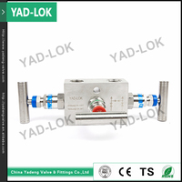 YAD-LOK High Demand Products brass engine water pipe manifold valve