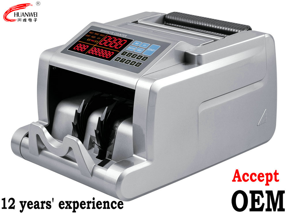 High Quality Banknote Checking Bill Counting Counterfeit Money Machine