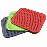 Heat resistant silicone pad, wholesale silicone pot mat, promotional heat resistant silicone mat