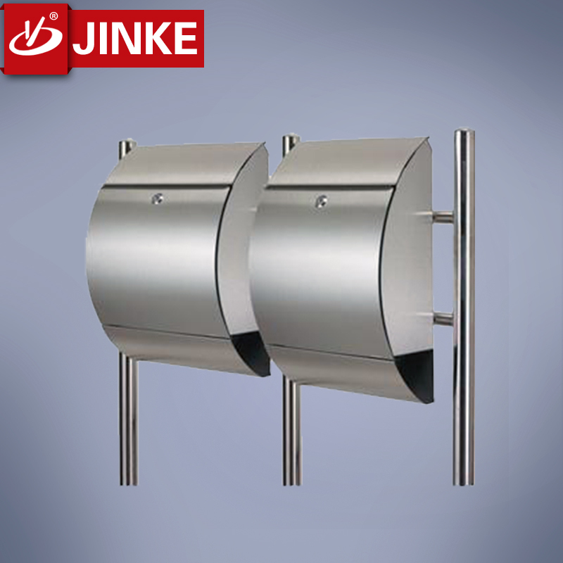 Delux Outdoor Stainless Steel Mailbox Parcel Box With Security Lock