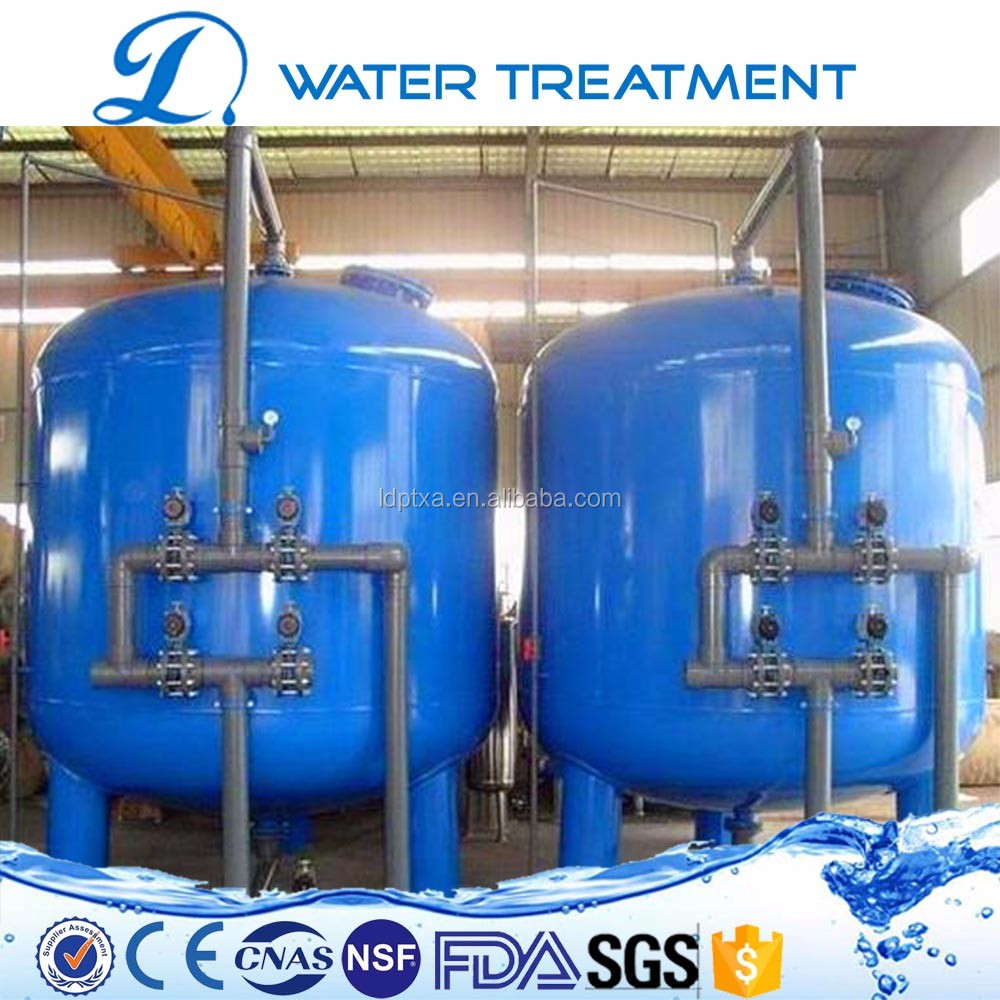 Free technical support 5m3/h drinking water filter system/water making machine