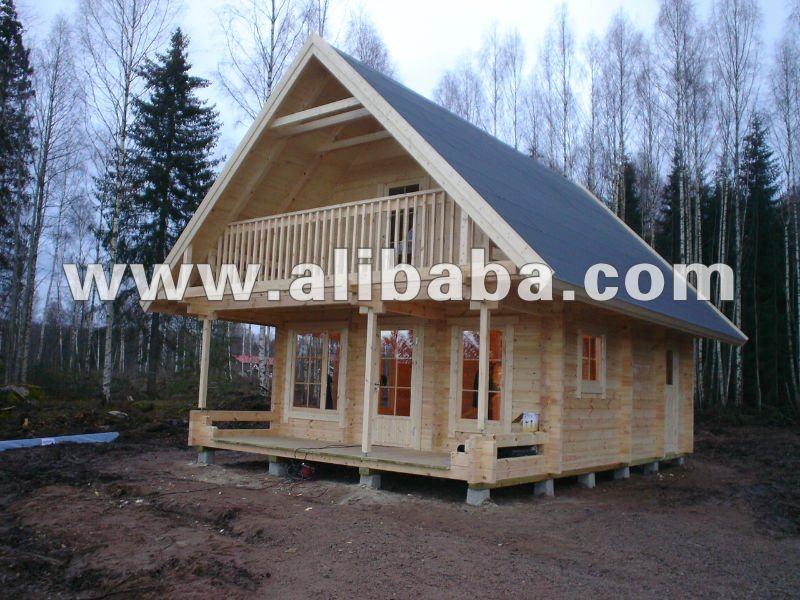 Prefabricated Wooden Log House Weekend