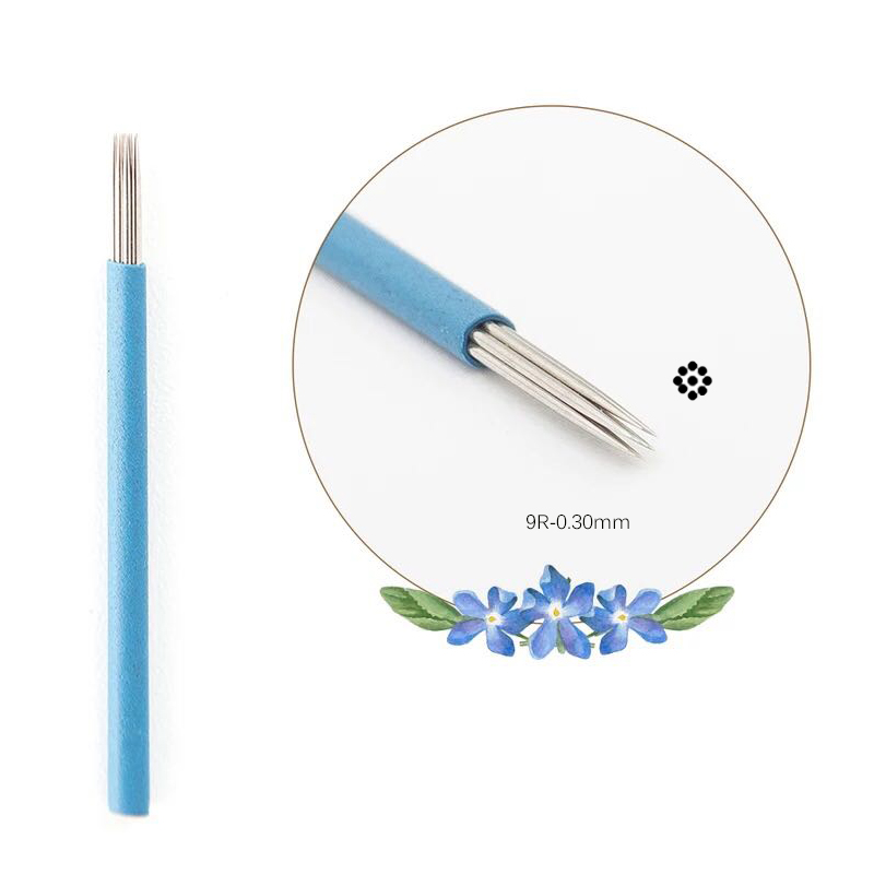 Health & Beauty Expressive Microblading Blades Needles 12 Pin 50 Or 100 Eyebrow Tattoo Tool By Crystalum Makeup