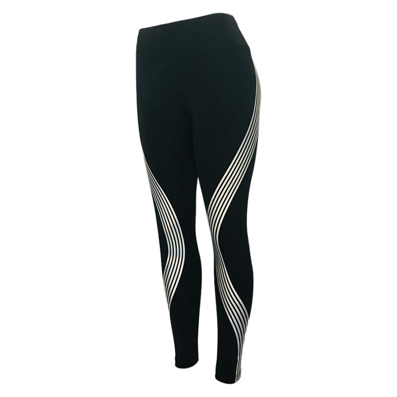 11b054180c6a3 Rainbow Reflective Leggings Gym Fitness Yoga Pants Sportswear Glow in the  Dark