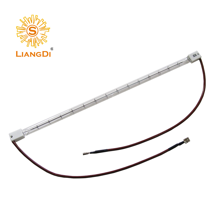 Energy saving lamp for food heating cooking heating element