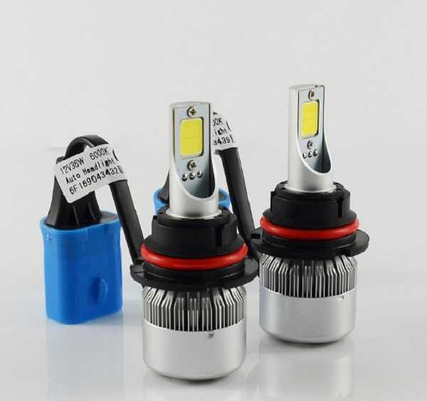 Canbus error free hot selling 9007 high low beam car led headlight with superbright led headlamp