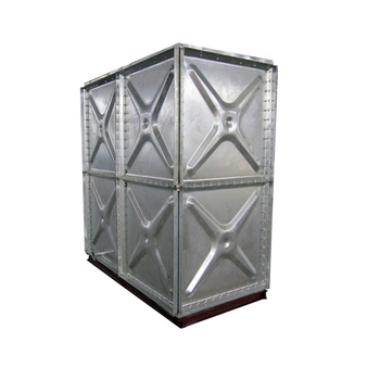 Hot dipped galvanized steel panel assembled water tank for drinking water storage