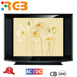 "21""Screen Size and CRT,Color Type used CRT TV"
