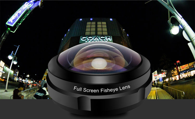 Shenzhen Itech Global smartphone corner shoot 238 degree wide angle cell phone camera lens