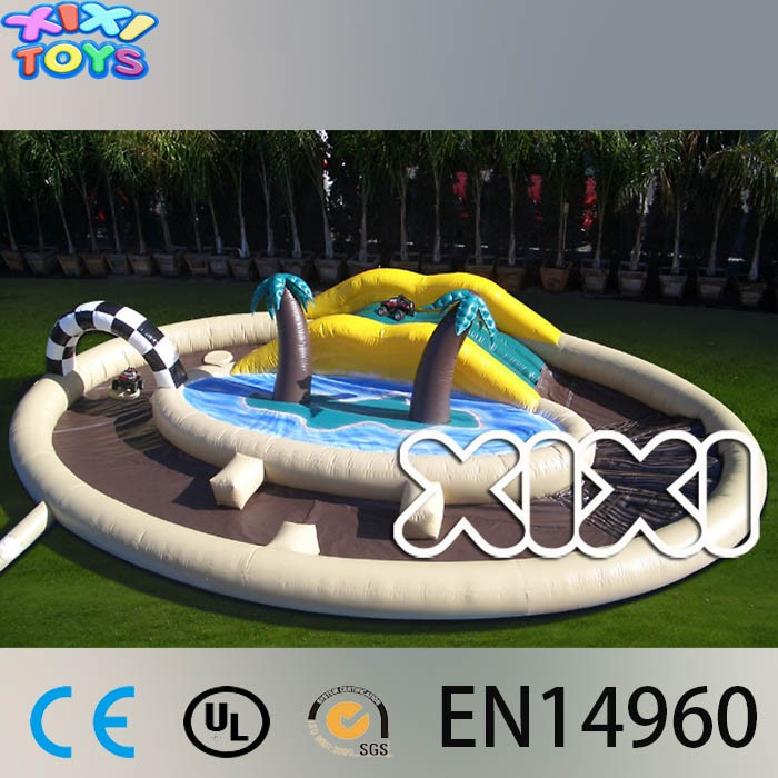 Inflatable RC Car Track, Inflatable Toy Car Track, RC Rally Track