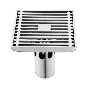High quality custom wholesale square bathroom shower auto drain floor drain cover